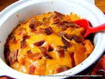 http://www.amyscookingadventures.com/2011/11/sweet-potatoes-au-gratin-with-bacon.html